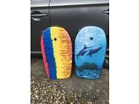New and unused - 2 kids body boards