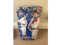 Snowman dress up outfit aged 3-5
