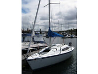 Hunter Sailing Boat 21ft - Excellent first time yacht
