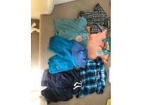 Age 2-3years summer bundle used good condition shortsx3 shirtsx2 topsx2 and a hat