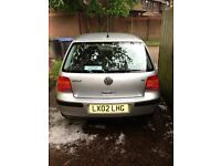 VW GOLF SE 1.6 SILVER FOR SALE