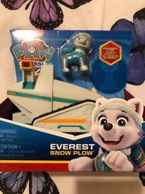 Everest snow plow