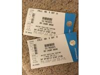 2 Chubby brown tickets £20 ONO