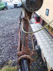 Old bike. Raleigh