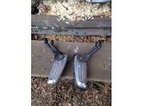 Honda pcx foot pegs