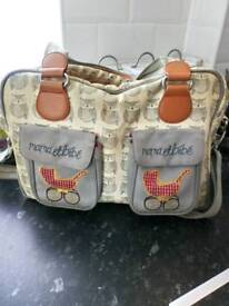 Yummy mummy nappy bag