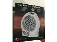 Fan Heater with Dual Control