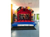 Bouncy castle and hot tub hire
