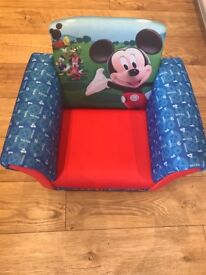 Kids Mickey Mouse chair