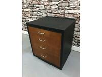 Small restored vintage chest of drawers