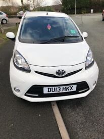 Toyota Aygo (2013) 3dr 1l in excellent condition full service and MOT history included, £0 road tax