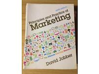 Principles And Practice Of Marketing by David Jobber. Sixth Edition.