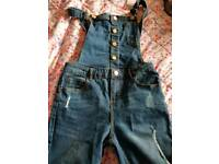 12 year old girls dungarees