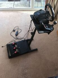 Videotech G27 Racing Wheel and stand