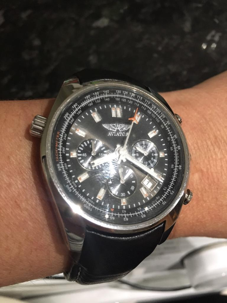 Gents AVIATOR chronograph watch