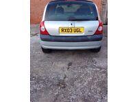 2003 Renault Clio 1.4 16v