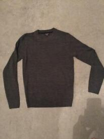 Grey long sleeves jumper New Look Size XS