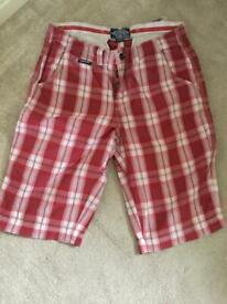 Superdry shorts x5 size medium