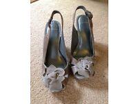Carvela peep toe heels - size 5