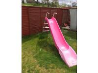 Large Pink Garden slide