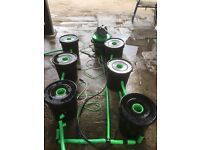 Hydroponics alien 6 pot system