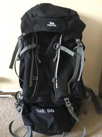 Tresspass camping backpack