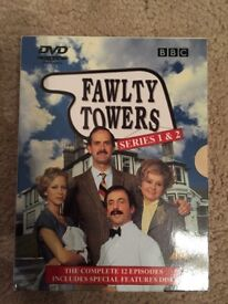 Fawlty Towers Complete Series 1 2 DVD Box Set