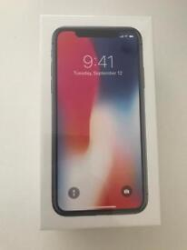 Apple iPhone X 256GB - Silver - Sealed Unlocked - SOLD