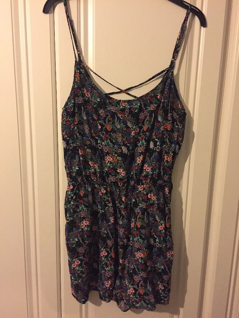 d1ee6206b4 Floral Playsuit - size 16 from H M