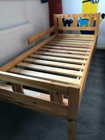 Ikea solid wood junior bed
