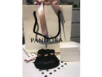 Pandora gift bag, small gift box and pouch