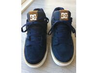 Dolce & Gabbana Navy Suede Trainers Size 9