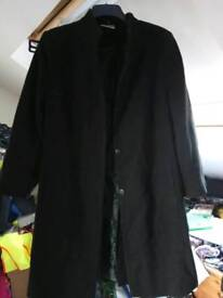 Ladies lined wool coat size 18