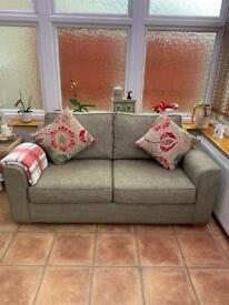 3 seater olive green sofa for sale - great condition