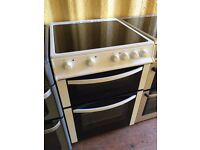 LOGIK White 60cm Freestanding electric cooker in Excellent condition