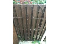 Ornate iron gate for sale