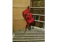 Red Kipling Baby Carrier
