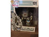 Titanfall 2 Atlas & Pilot funko POP! GameStop exclusive