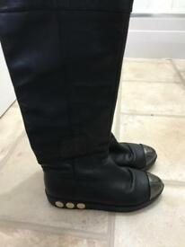Chanel boots size 4