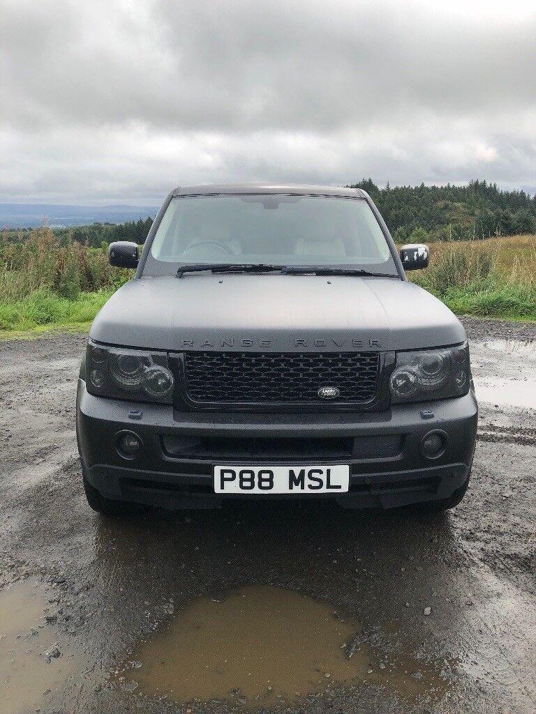 Range Rover Sport Matt Black Body Wrapped For Sale In Bathgate West Lothian Gumtree