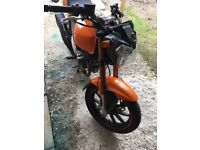 Keeway125 great condition rides mint low mileage