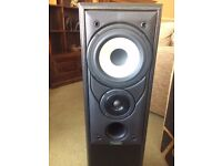 Mission 702e floor standing speakers - as new - superb quality by leading manufacturer