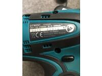 Makita dtw251 brushless impact driver brand new