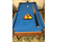 """5' x 2'6"""" Collapsible pool table"""