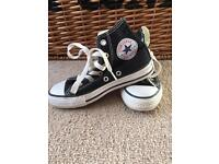 Barely Worn Converse Hi Tops
