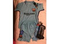 Boys Barcelona kit