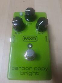 MXR M269SE Carbon Copy Bright · Guitar Effect - Half Retail Price