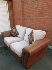 DFS 2 Seater Sofa with original Cushions
