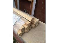 Stair Spindle Pilasters