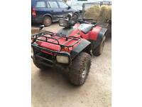 Honda 350 trx road legal 4x4 quad